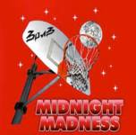 Midnight Madness 3 on 3 Hoop Challenge registration logo