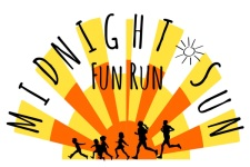 Midnight Sun Fun Run registration logo
