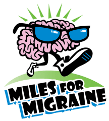 Miles for Migraine 2-mile Walk, 5K Run and Relax Miami Event registration logo
