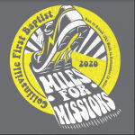 Miles For Missions 5K Run & 2 Walk registration logo