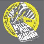 Miles For Missions 5K Run & 2 Walk registration logo
