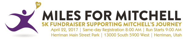 Miles for Mitchell registration logo