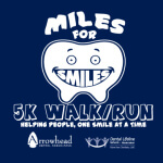 Miles For Smiles 5K Run/Walk registration logo