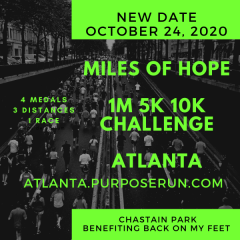 Miles of Hope registration logo