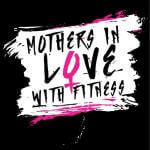 MOTHERS IN LOVE WITH FITNESS - Mom's on a Mission 5k registration logo