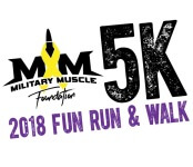Military Muscle Foundation Fun Run & Walk registration logo