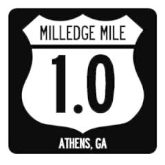 Milledge MIle registration logo