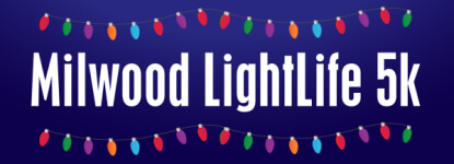Milwood Commons LightLife 5K registration logo