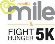 Mindful Mile & Fight Hunger 5K registration logo