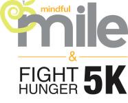 Mindful Mile & Fight Hunger 5K registration logo