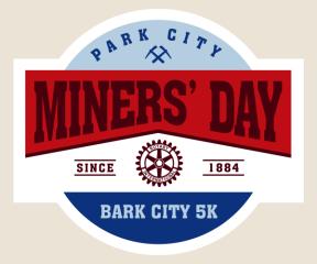 Miners' Day 5k registration logo