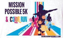Mission Possible 5K & Color Run 1 Mile registration logo