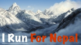 Missions Run For Nepal registration logo