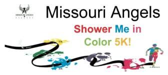 Missouri Angels Shower me in Color registration logo