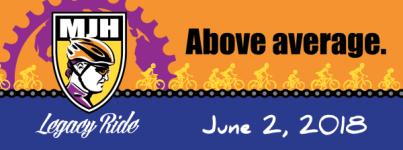 MJH Legacy Ride registration logo