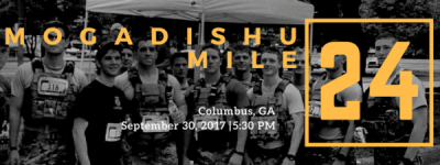 Mogadishu Mile - Columbus, GA registration logo