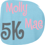 Molly Mae Happy Birthday 5K registration logo