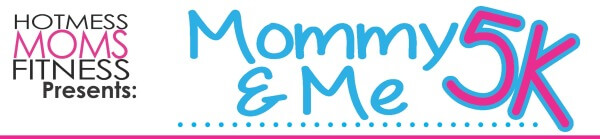 Mommy & Me 5K -MAY registration logo