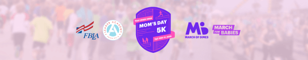 Mom's Day 5K - Oak Creek, WI registration logo
