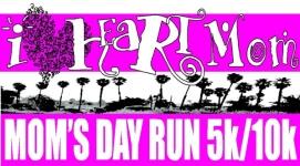 Mom's Day Run registration logo