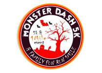 Monster Dash 5K & 1 Mile Family Fun Run registration logo