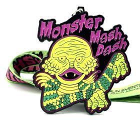 Monster Mash Dash 1M 5K 10K 13.1 26.2 registration logo