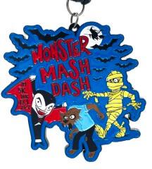 Monster Mash Dash 1M 5K 10K 13.1 and 26.2 registration logo