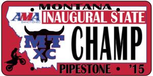 Montana AMA State XC Championship registration logo