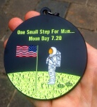Moon Day 7.20 - One Small Step For Man registration logo
