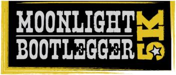 Moonlight Bootlegger 5K Greensboro registration logo