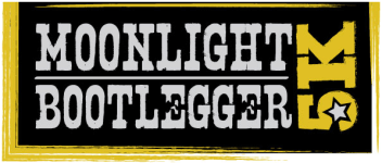 Moonlight Bootlegger 5K Greensboro registration logo