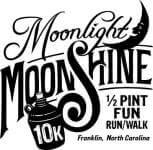 Moonlight Moonshine 10K registration logo