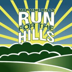 Moraine Hills Run For the Hills Half Marathon & 10K registration logo