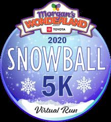 Morgan's Wonderland Virtual Snowball 5K registration logo