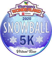 Morgan's Wonderland Virtual Snowball 5K registration logo