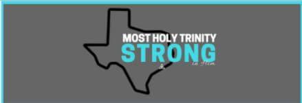 Most Holy Trinity 5K registration logo