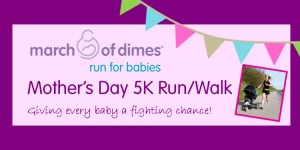 Mother's Day 5K for Babies Run/Walk  registration logo