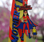 Mother's Day SUPER MOM 5K Now Only $12 registration logo
