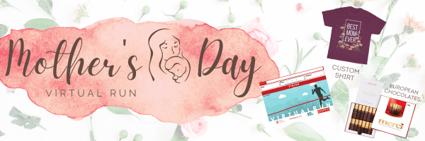 Mother's Day Virtual Run registration logo