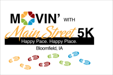 Movin' with Main Street 5K registration logo