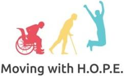 MovingWithHOPE 5K Race registration logo