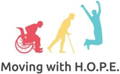 MovingWithHOPE 5K Race registration logo