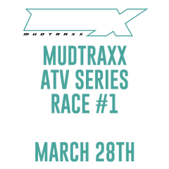 MudTraxx ATV Points Series at MauMee - Race 1 registration logo