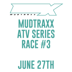 MudTraxx ATV Points Series at MauMee - Race 3 registration logo