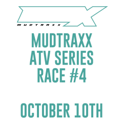 MudTraxx ATV Points Series at MauMee - Race 4 registration logo