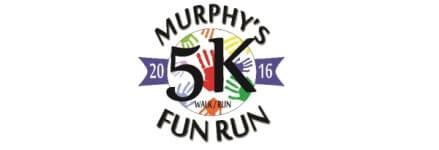 Murphy 5K Fun Run registration logo