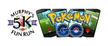 Murphy 5K Plus Pokemon Go registration logo