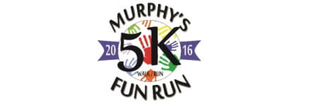 Murphy's 5K Fun Run registration logo