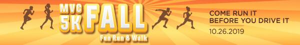 MVC 5K Fall Fun Run & Walk registration logo