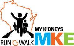 My Kidneys Run/Walk registration logo
